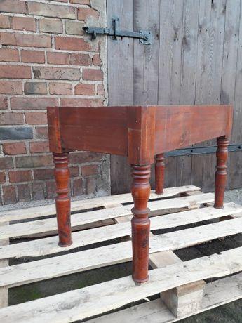 Friedebergsch Bruch XVIII/XIX drewniana rama stolika 100% zabytek