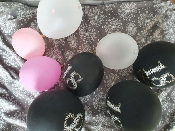 balony urodzinowe na 18