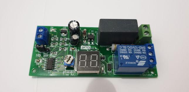Przerywacz Opóźniacz Czasowy Włącznik 220V 2500 W programator LED