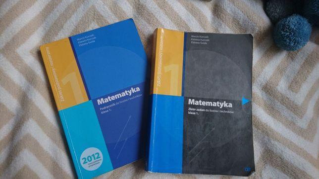 Matematyka zbiór zadań + podręcznik K.Pazdro, klasa 1.
