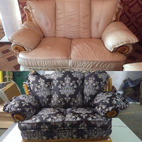 Перетяжка  мягкой мебели и изготовление! Диваны, стулья,барные диваны