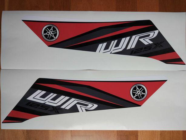 Autocolantes Yamaha WR125X 2010