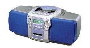 переносной аудиоцентр JVC RC BZ 5