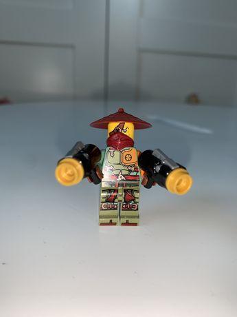 LEGO NINJAGO figurka 70735 Ronin Ronan i pistolety broń