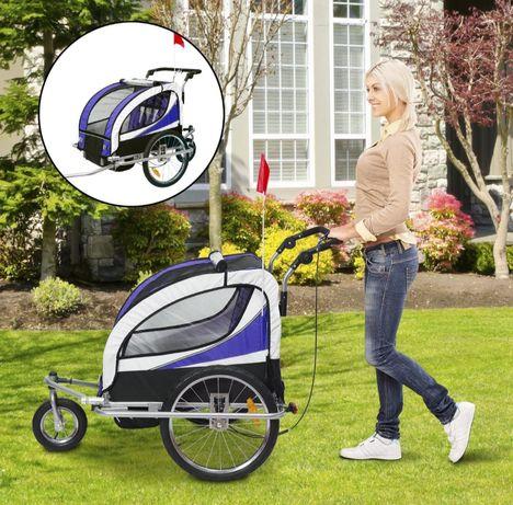 Przyczepka rowerowa dla dzieci  Przyczepa do roweru, stabilna i o ładn