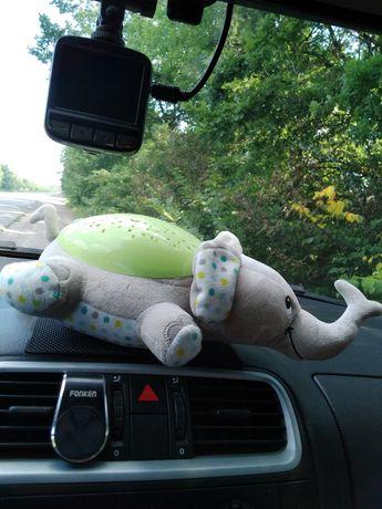 Ночник проектор слоник Эдди Summer Infant