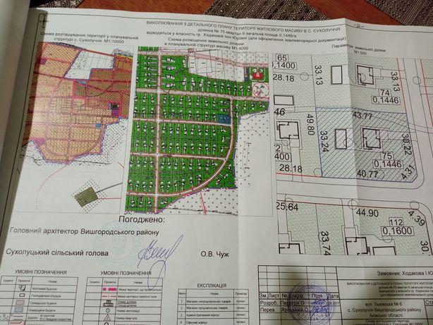 Продам участок в с. Сухолучье  вблизи киевского моря , цена за 15 сото