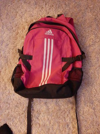 Plecak różowo-czarny