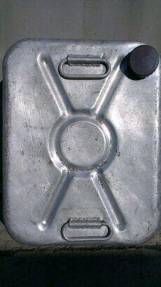 Канистра алюминиевая, 40 л