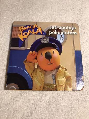 Książka z serii Bracia Koala, Jaś zostaje policjantem, twarda okładka