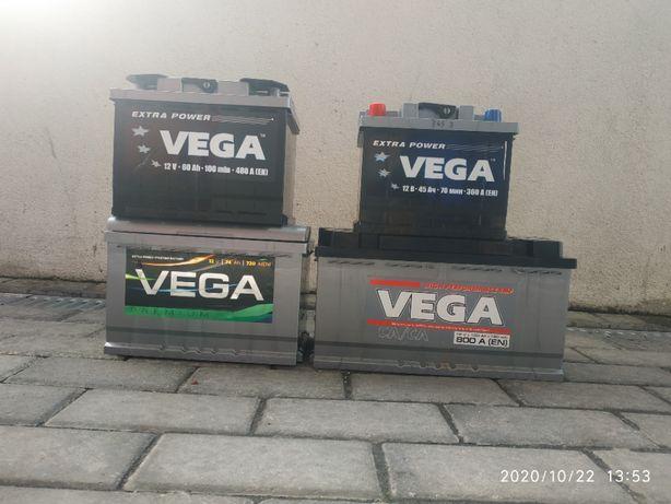 АКБ, акумулятор 45/60/74/100, аккумулятор VEGA, доставка, заміна.