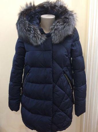 Пуховик -женский стильный зимний