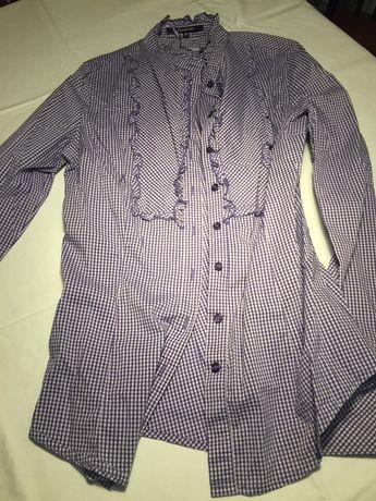 Bluzy, koszulki, spodnica, rozmiar S/M zestaw Reserved, Mohito