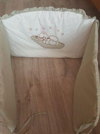 Osłonka pokrowiec na szczebelki, otulacz do łóżeczka