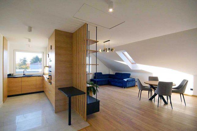 Mieszkanie 100m2  w pełni wyposażone, miejsca parkingowe, klima.
