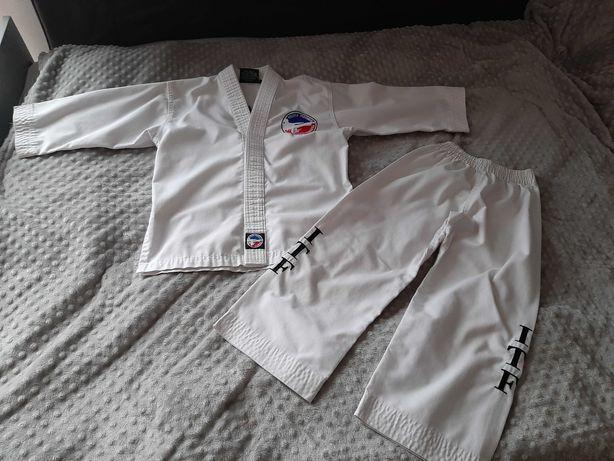 Strój  taekwondo roz 120 federacja
