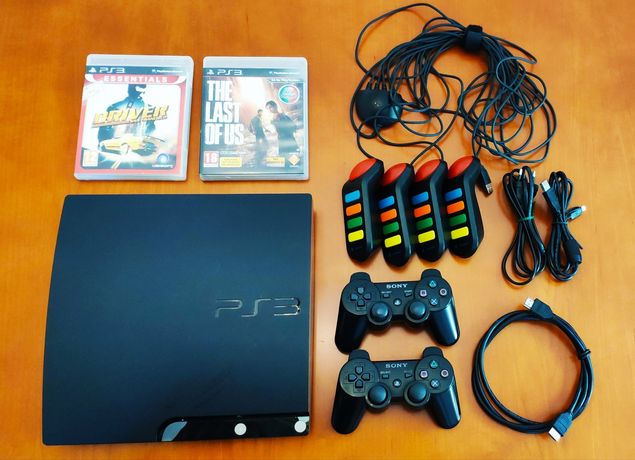 PlayStation 3 Slim Desbloqueada (47 jogos)