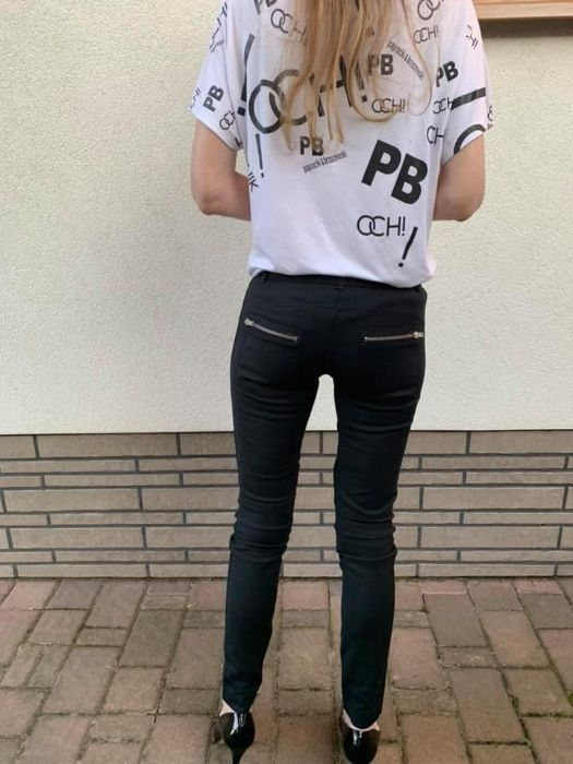 Czarne spodnie PINKO XS Rzeszów - image 1