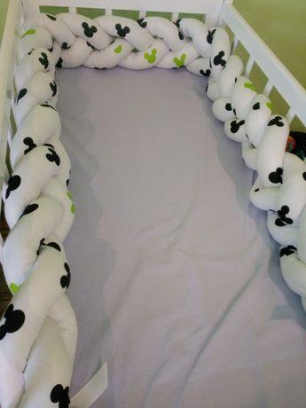 Ochraniacze do łóżeczka, zestawy, kokony
