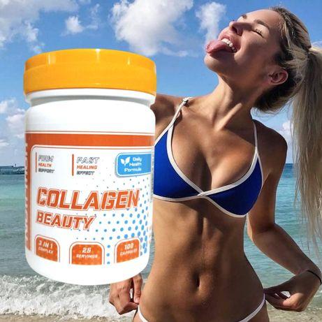 Морской коллаген для здоровой кожи и суставов Collagen Beauty Германия