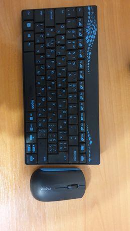 Rapoo 8000 беспроводные клавиатура + мишка