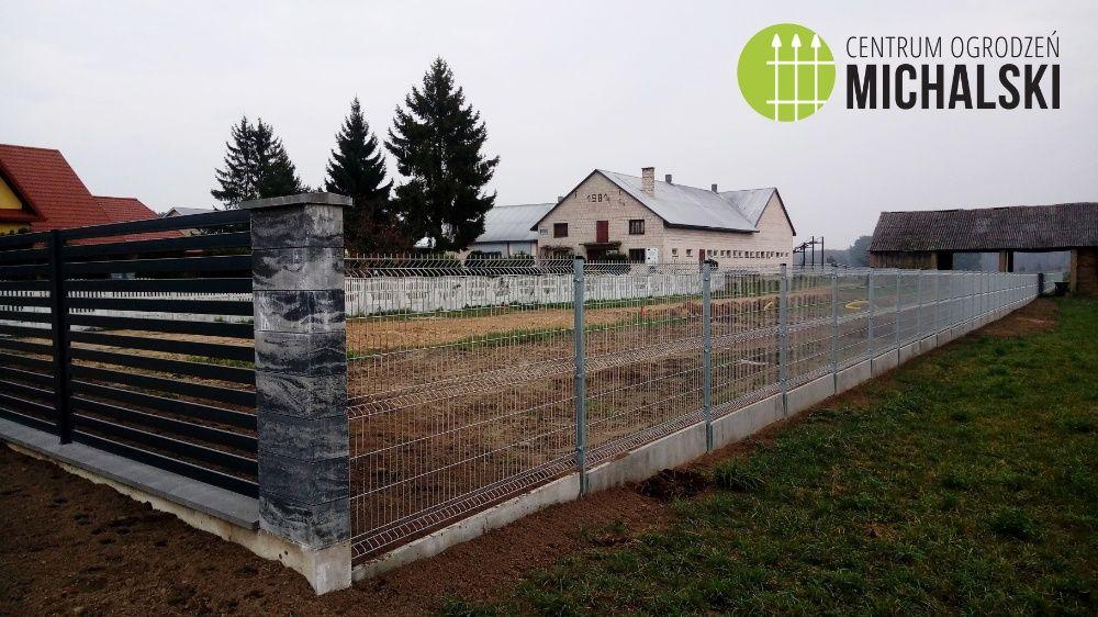 Ogrodzenie panelowe, panele 2D/3D, siatka panelowa, ASF Zambrów - image 1