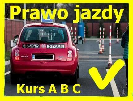 Prawo jazdy kat A B C Ukraina Szybkie kursy, Nauka jazdy