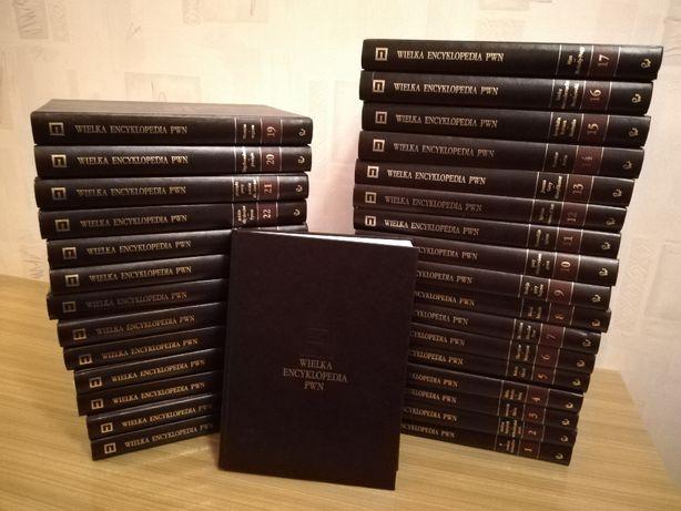 Wielka Encyklopedia PWN 31 tomów komplet