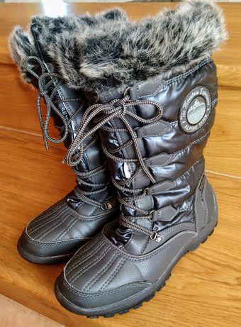 Buty, śniegowce rozmiar 37 ten-TEX