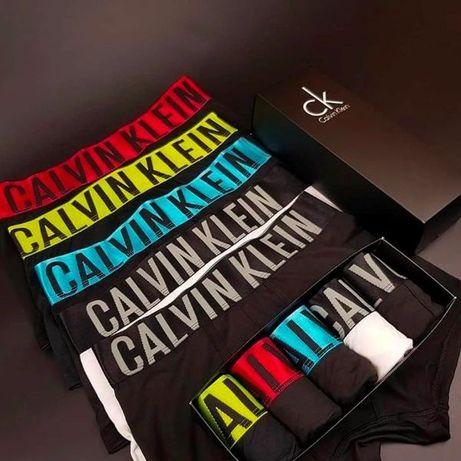 Подарочный набор 3-5 шт. мужские трусы/боксеры Calvin Klein Intense