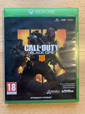 Call of Dudy Black OPS 4 xbox one S/X