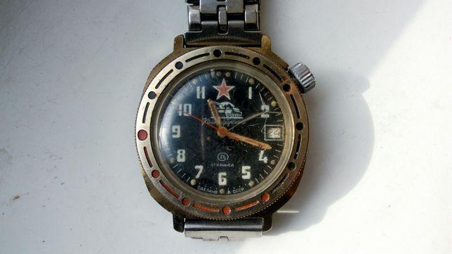 Часы командирские 1991 г, 1 шт