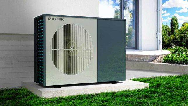 ZESTAW Pompa ciepła TECHNIX POMPY Powietrzna MOC 9,5 kW TX 9500