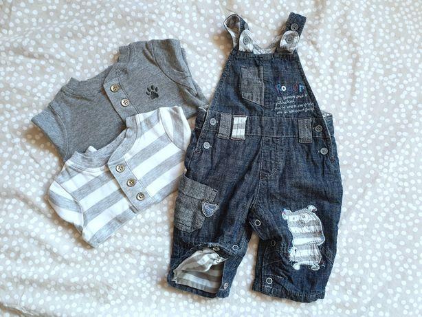 Komplet bluzki + spodnie Next r. 56-62