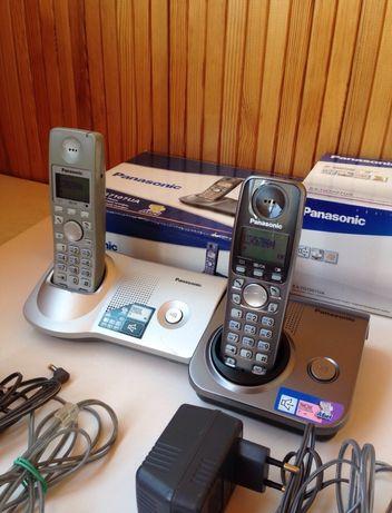 Panasonic KX-TG7107UA, KX-TG7207UA Телефон беспроводной радиотелефон