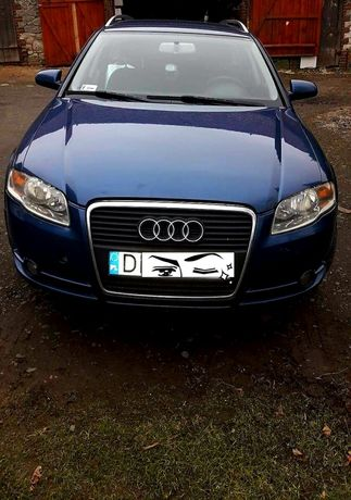 Audi a4b7 S-leine