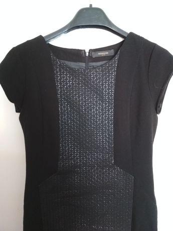 Sukienka Reserved 38 czarna biznesowa wizytowa