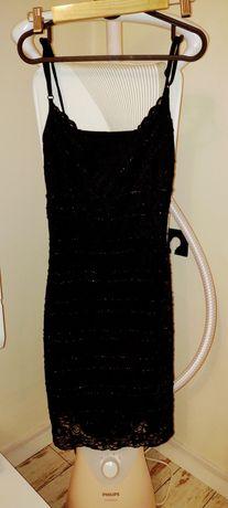 Błyszcząca sukienka S
