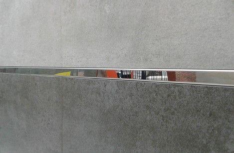 3 Listwy chromowane 15mm Azario profil chrom gat. I łazienka glazura