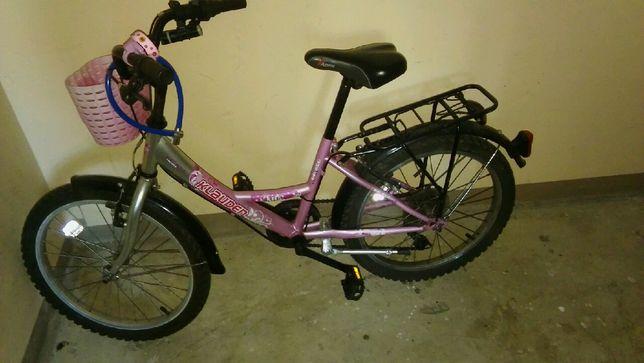 Rower dziewczęcy 20 cali