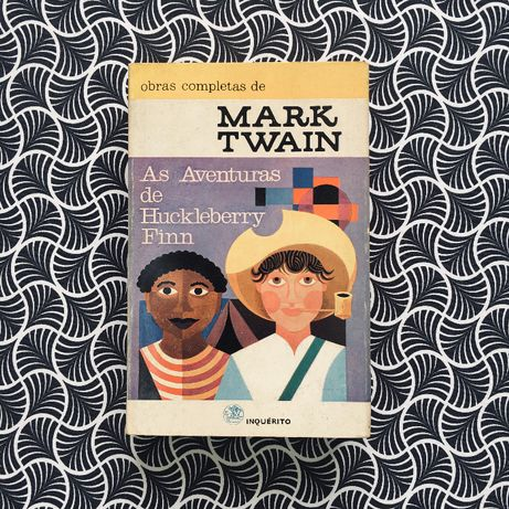As Aventuras de Huckleberry Finn (ilustrado) - Mark Twain