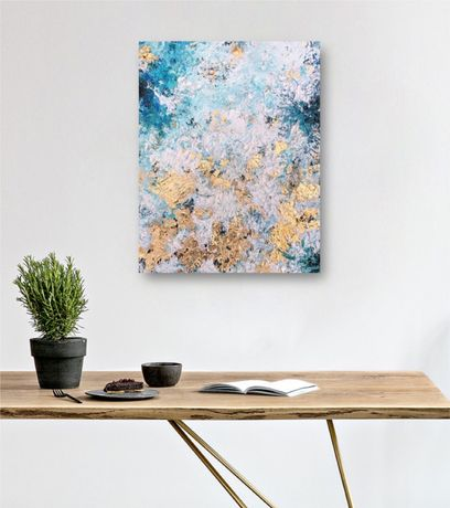 Картина маслом Модерн Абстракция 40х50, интерьер, лофт арт, loft art