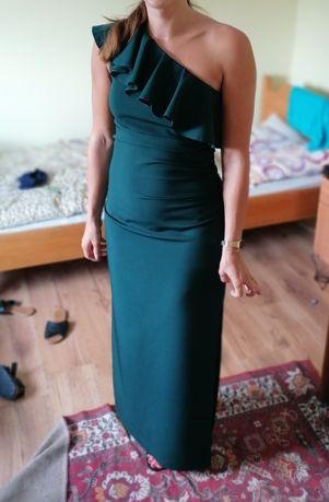 Długa elegancka suknia!