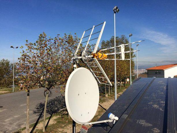 Montagem de antenas