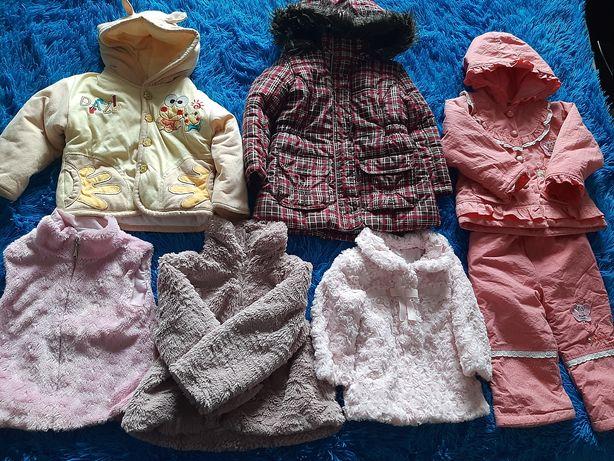 Детские курточки, шубки на девочку и мальчика от 6 мес до 3 - 4 года