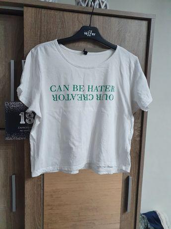 Krótka koszulka r. XL SinSay