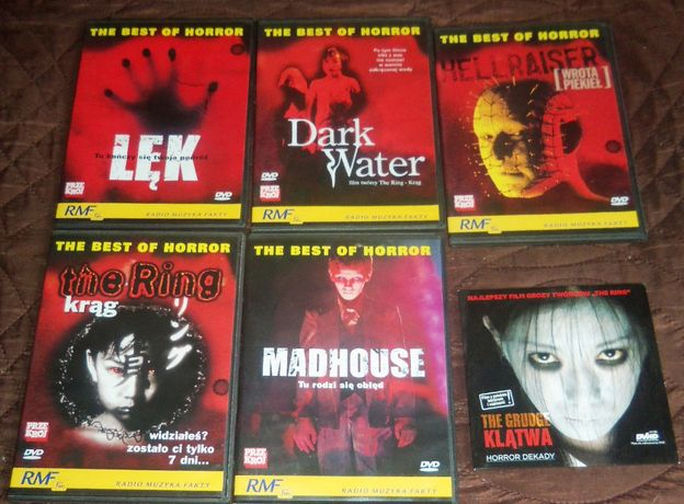 Hellraiser Lęk Krag Madhouse Dark water Klątwa