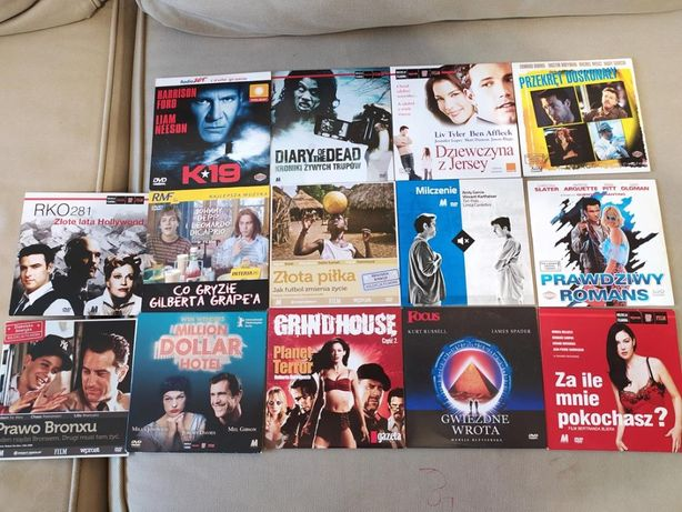 Zestaw 14 filmów DVD