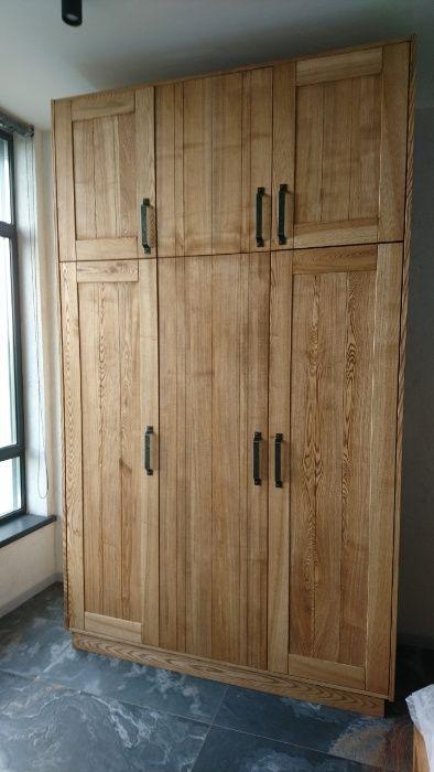 Шкаф на заказ, шкаф-купе из натурального дерева, мдф Киев - изображение 1