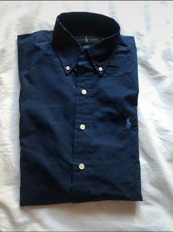 Camisa azul escuro da Polo Ralph Lauren (original)